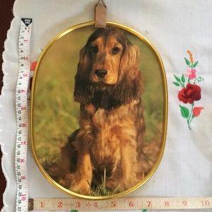 Ecstasy dog picture frame